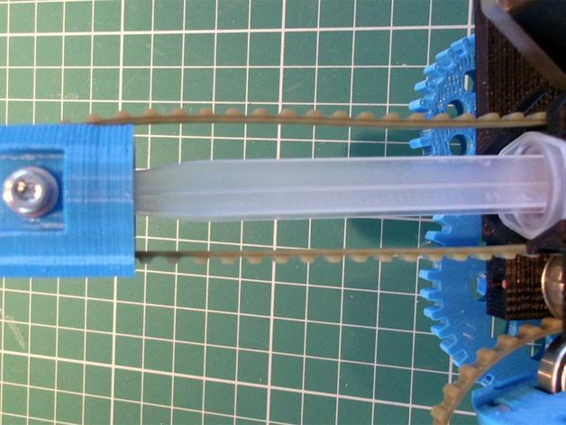 3D打印机通用膏糊挤压机 3D模型  图24