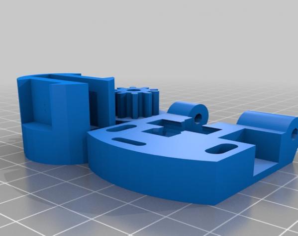 3D打印机通用膏糊挤压机 3D模型  图27