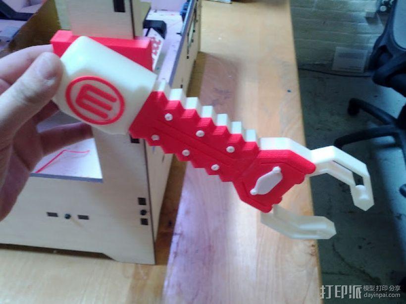 机器人手臂 3D模型  图6