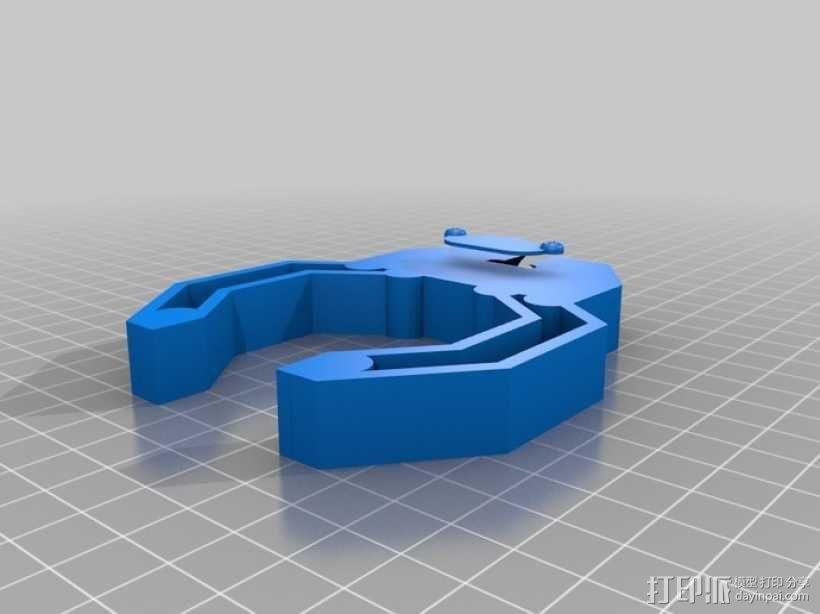 机器人手臂 3D模型  图11