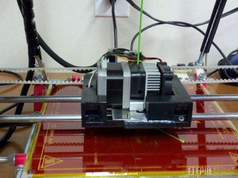 MK7 X步进机 3D模型  图1