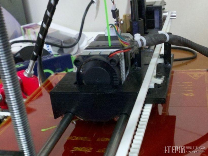 MK7 X步进机 3D模型  图3