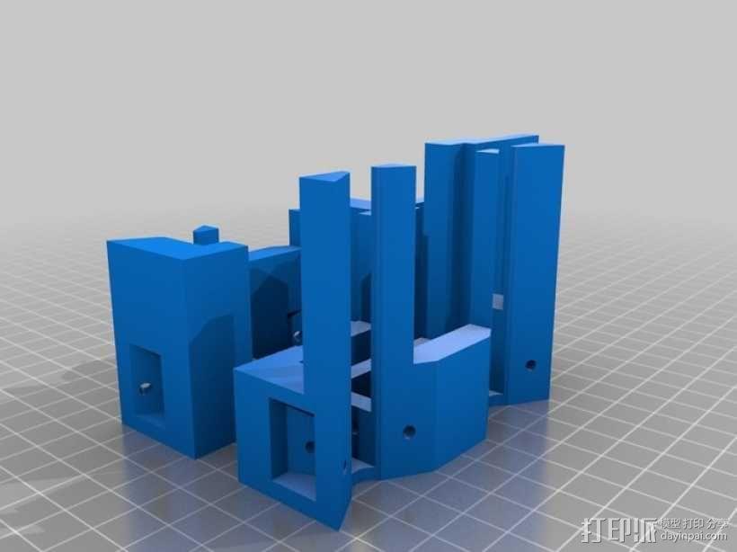 MK7 X步进机 3D模型  图6
