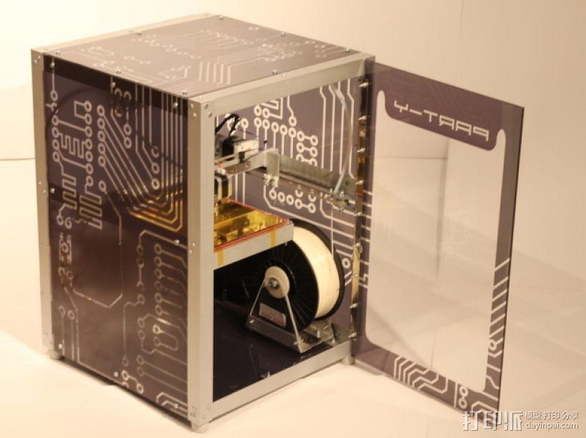 打印机Y轴框架 3D模型  图1