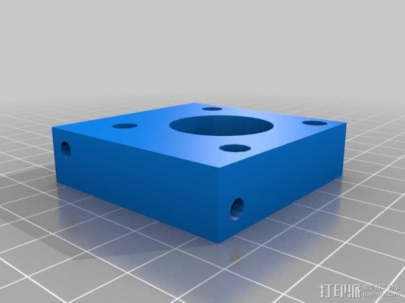 打印机Y轴框架 3D模型  图6