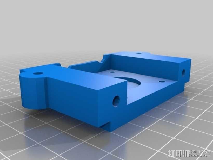 打印机Y轴框架 3D模型  图8