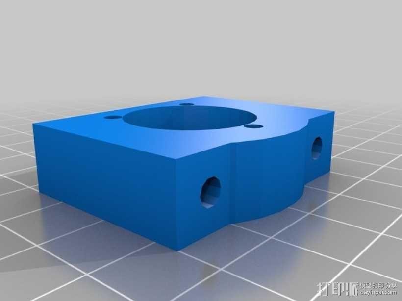 打印机Y轴框架 3D模型  图11