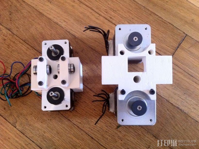 参数化Reprap打印机 3D模型  图4