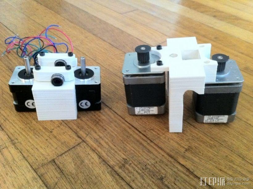 参数化Reprap打印机 3D模型  图2