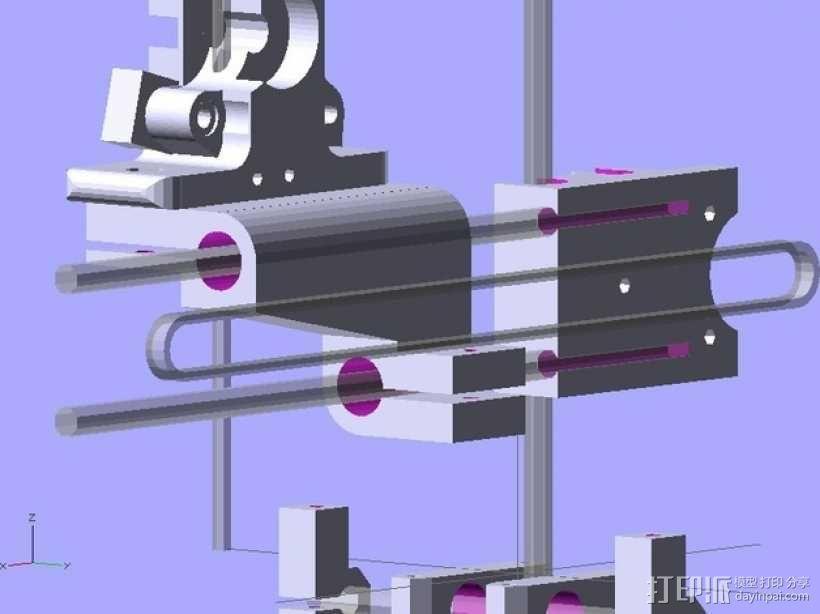参数化Reprap打印机 3D模型  图5