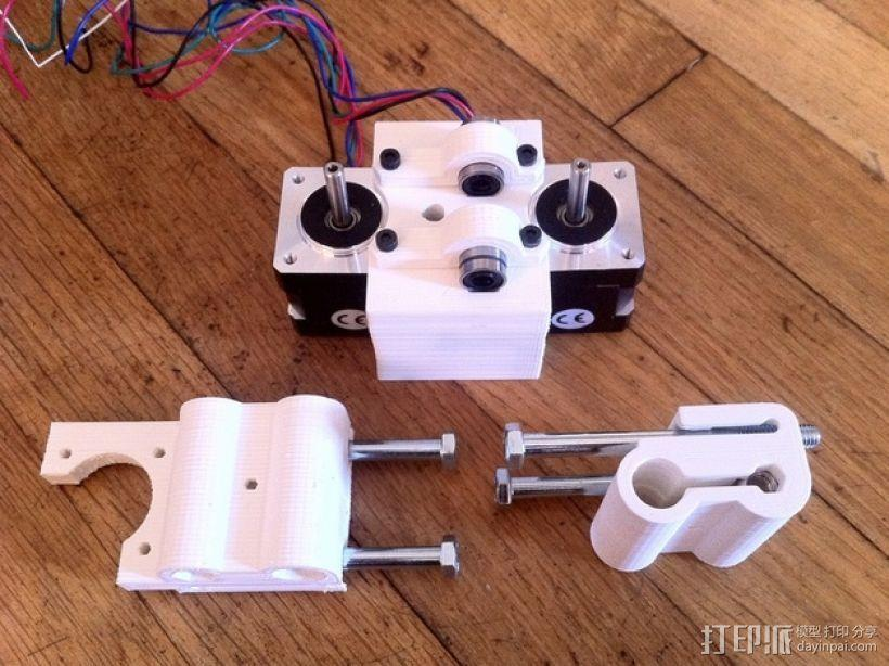 参数化Reprap打印机 3D模型  图8