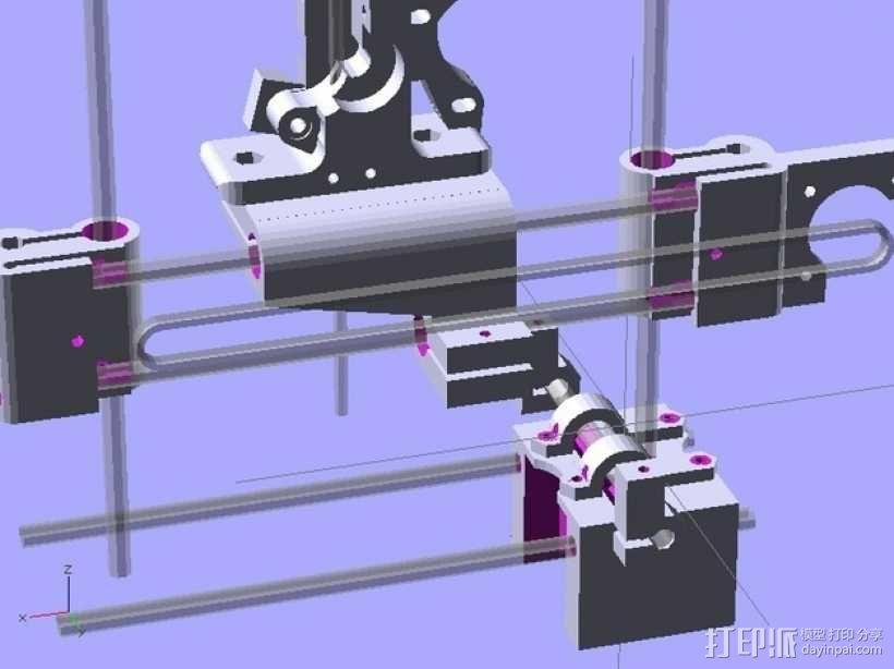 参数化Reprap打印机 3D模型  图7