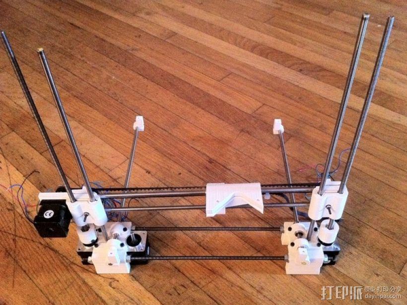 参数化Reprap打印机 3D模型  图9