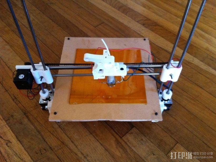 参数化Reprap打印机 3D模型  图13