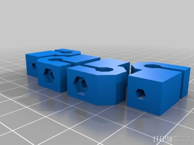参数化Reprap打印机 3D模型  图15