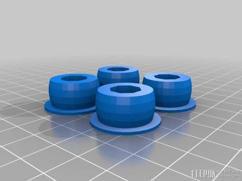 参数化Reprap打印机 3D模型  图16