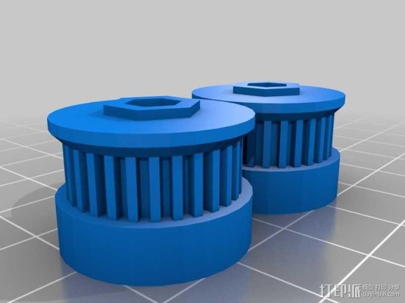 参数化Reprap打印机 3D模型  图20
