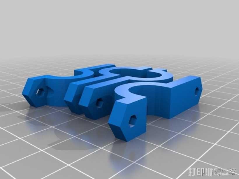 参数化Reprap打印机 3D模型  图22