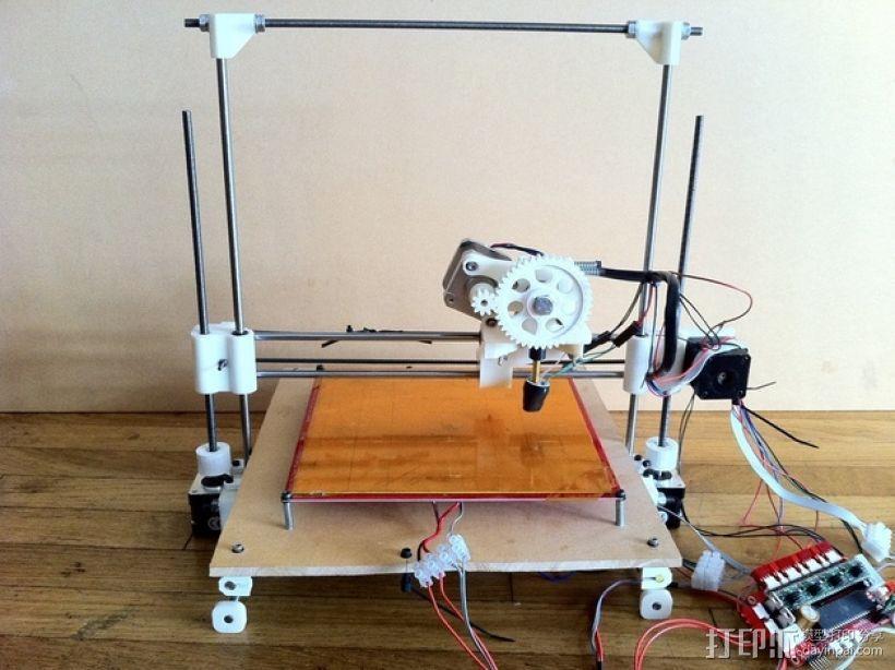 参数化Reprap打印机 3D模型  图23