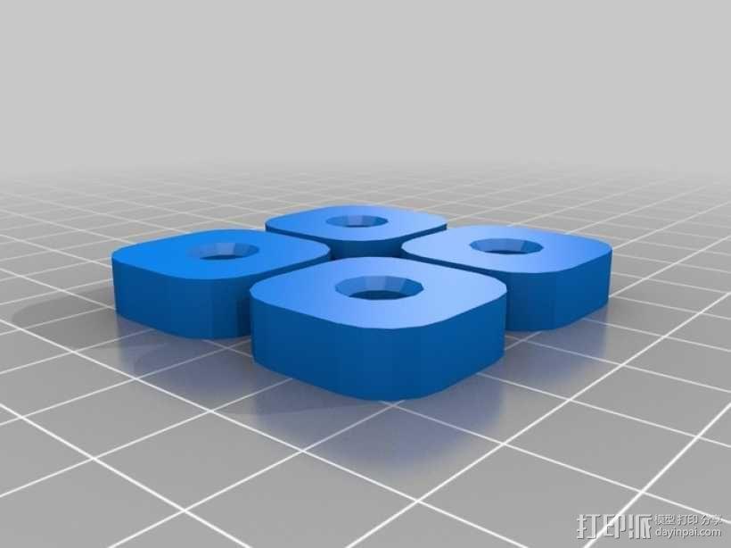 参数化Reprap打印机 3D模型  图24