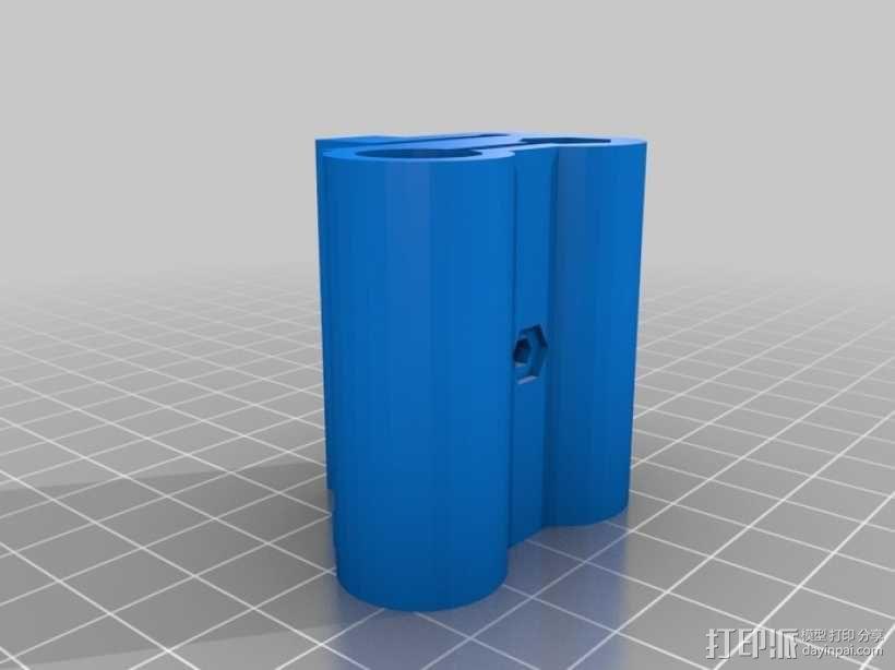 参数化Reprap打印机 3D模型  图25