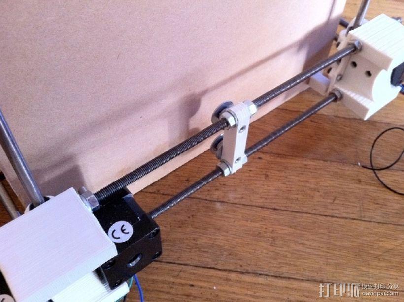 参数化Reprap打印机 3D模型  图29