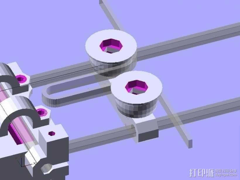 参数化Reprap打印机 3D模型  图28