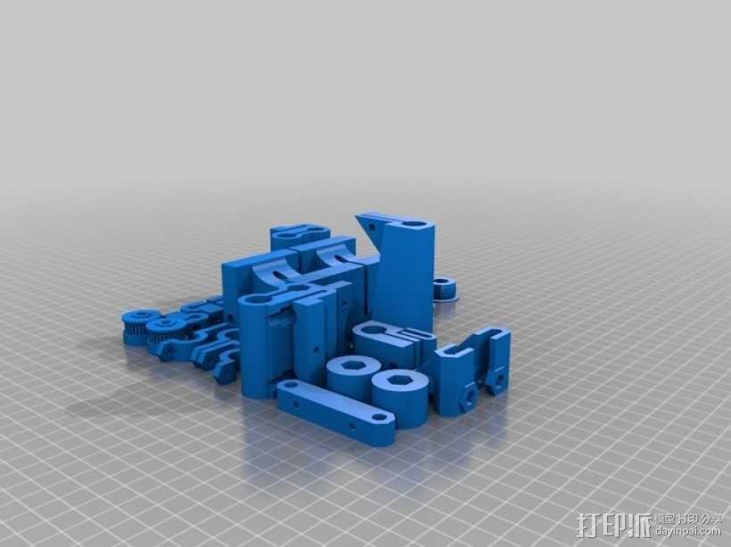 参数化Reprap打印机 3D模型  图30