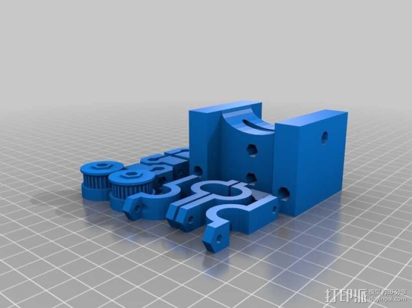 参数化Reprap打印机 3D模型  图32