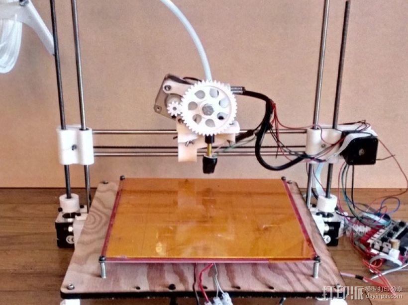 参数化Reprap打印机 3D模型  图37