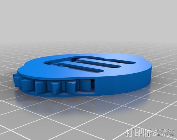 可分解的齿轮箱 3D模型  图2