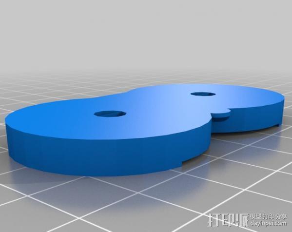 可分解的齿轮箱 3D模型  图3
