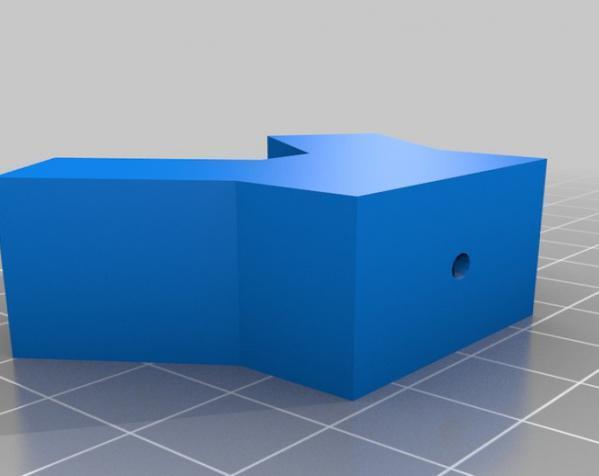 线材上色装置底座 3D模型  图1