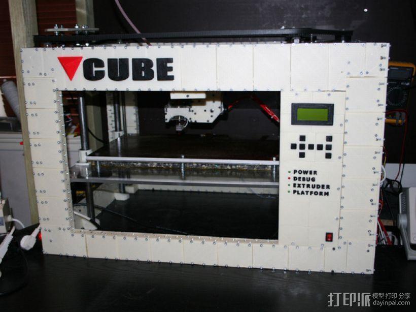 CUBE  3D打印机 3D模型  图1
