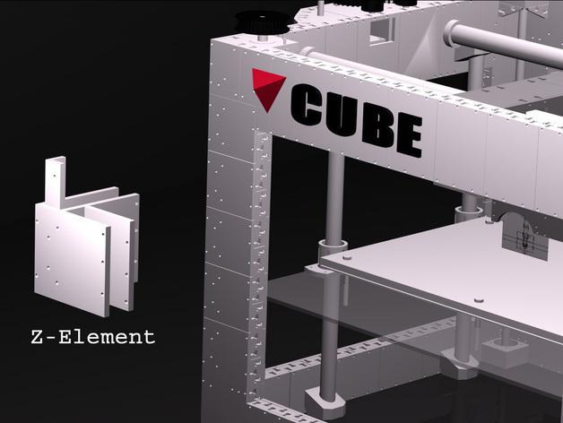 CUBE  3D打印机 3D模型  图9