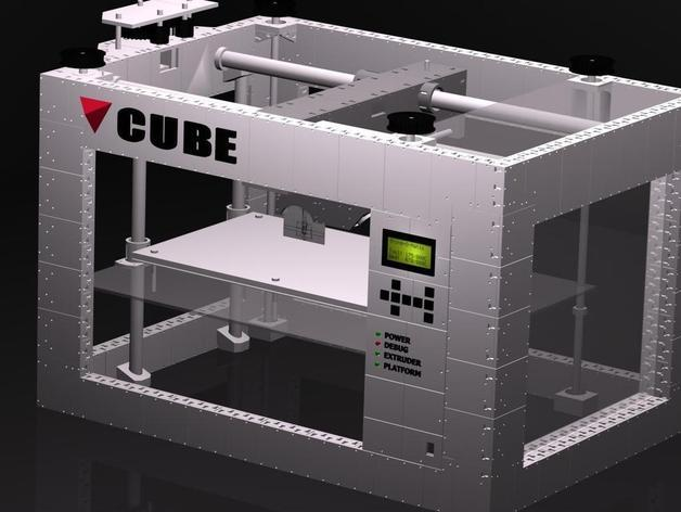 CUBE  3D打印机 3D模型  图8