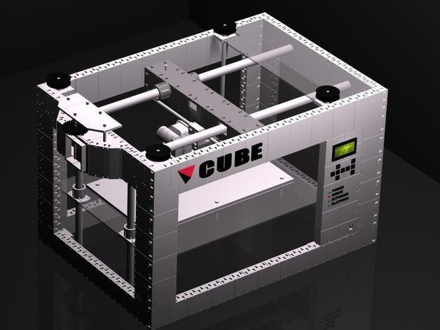 CUBE  3D打印机 3D模型  图7