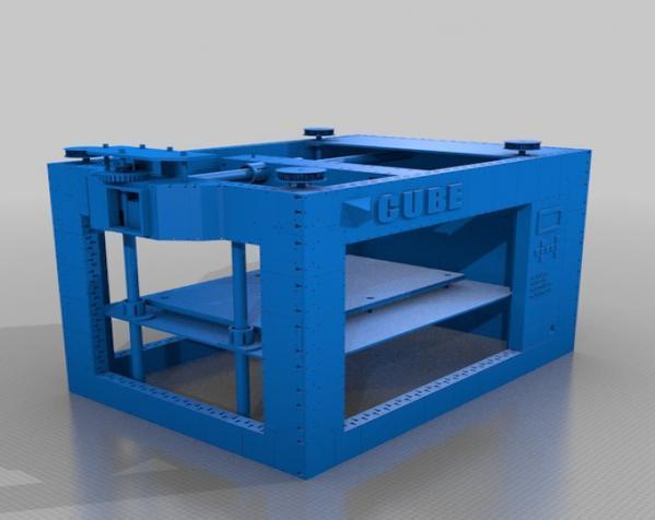 CUBE  3D打印机 3D模型  图10