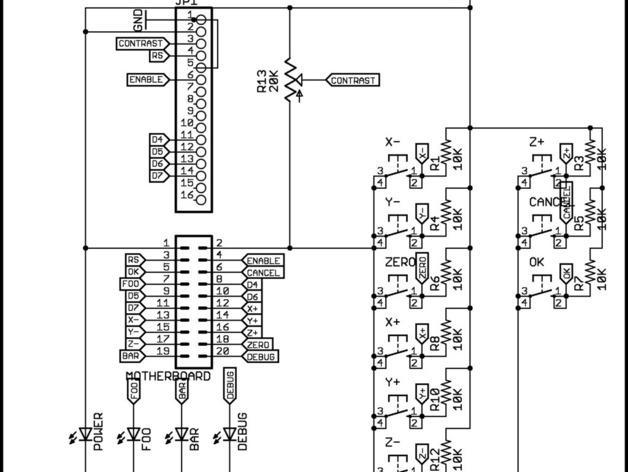 MakerBot Gen4 接口装备 3D模型  图2
