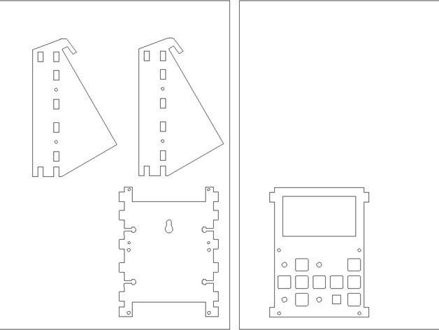 MakerBot Gen4 接口装备 3D模型  图1