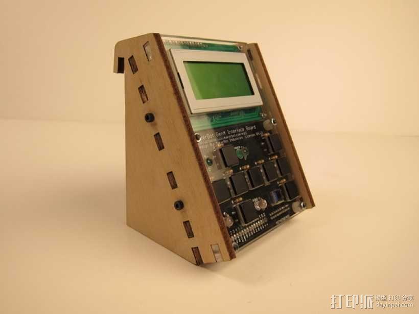 MakerBot Gen4 接口装备 3D模型  图4