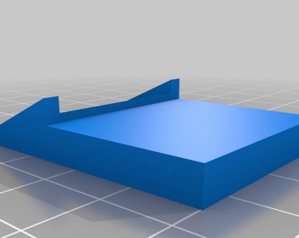 壁挂式SD卡面板 3D模型  图1