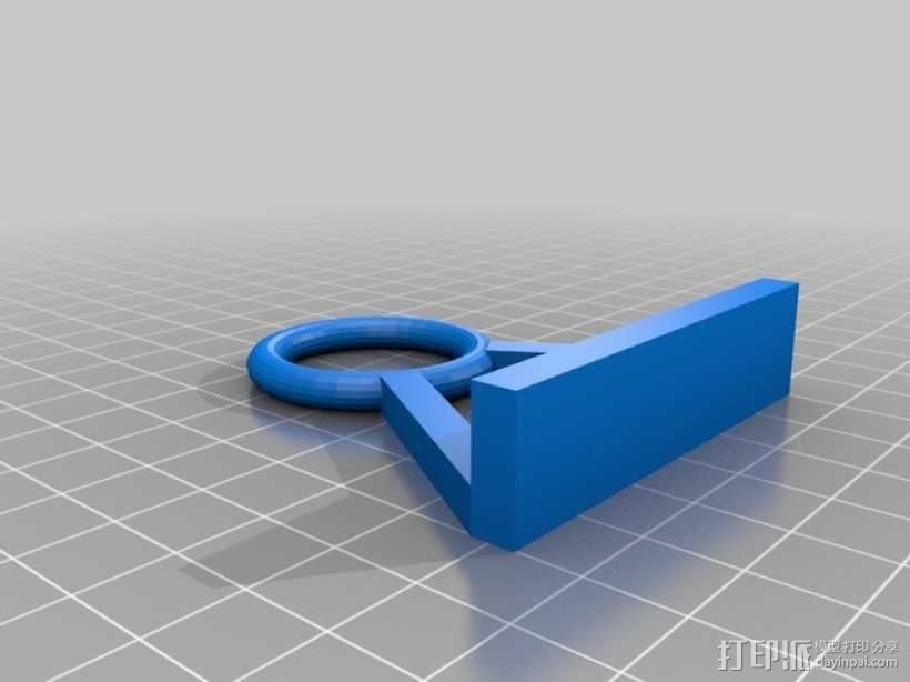 3D打印机线缆收纳架 3D模型  图3