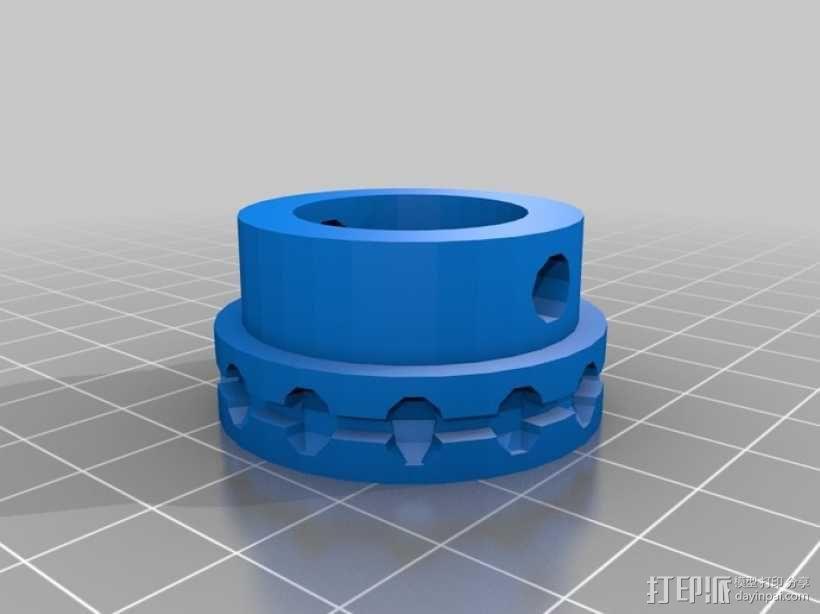 轴承滑轮 3D模型  图4