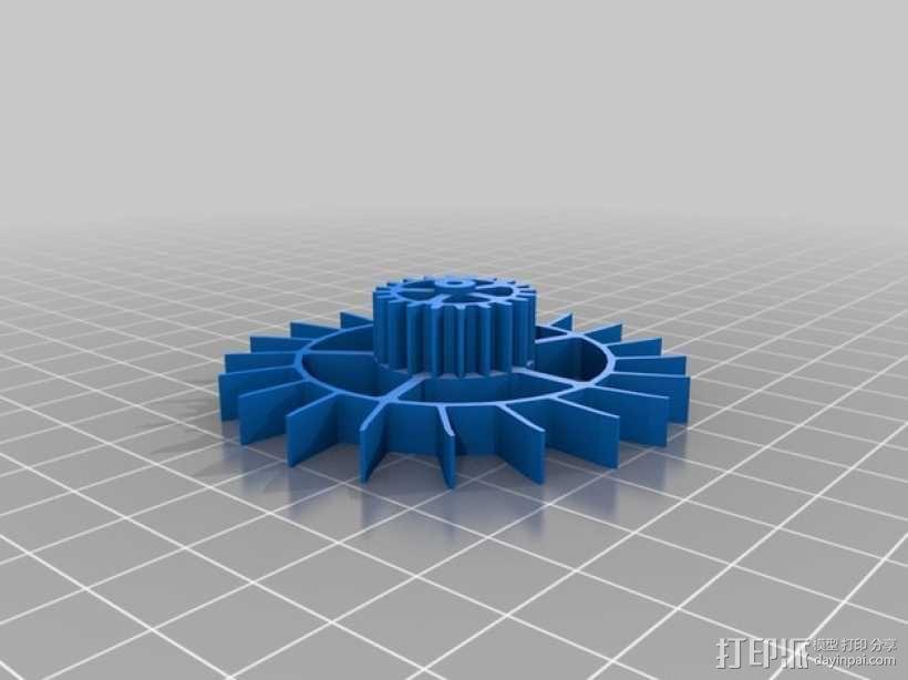 机械钟 3D模型  图5