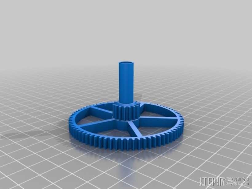 机械钟 3D模型  图10