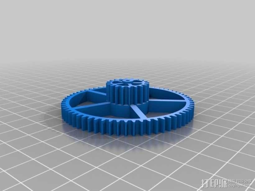 机械钟 3D模型  图13