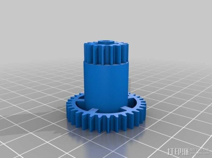 机械钟 3D模型  图14