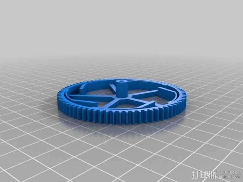 机械钟 3D模型  图17