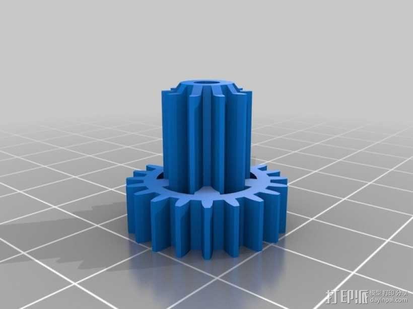 机械钟 3D模型  图20